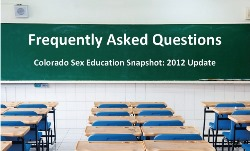 Sex Ed Snapshot Update - FAQ